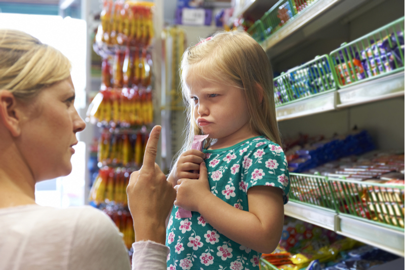Dealing with toddler tantrums in public