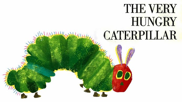 The Very Hungry Caterpillar (Source: Mommydelicious)