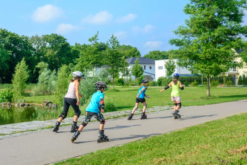 Home Exercise Rollerblading