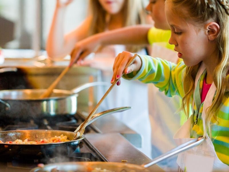 Cooking with Toddlers and Children